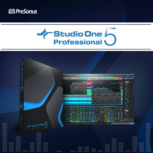 PRESONUS Studio One 5 Professional 스튜디오원5 프로